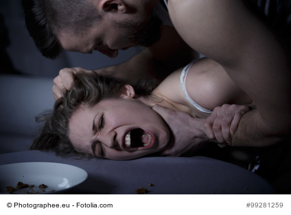 aggressiver Sex