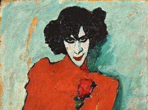 Transvestitismus: Alexej von Jawlensky: Alexander Sacharoff, 1909