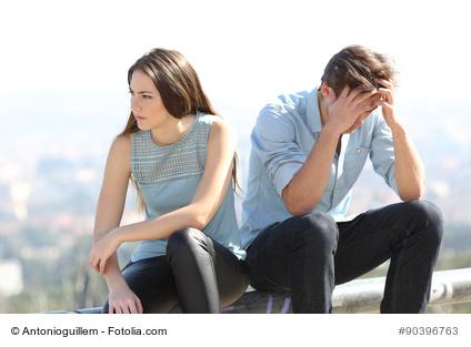 Unzufriedenheit in der Beziehung